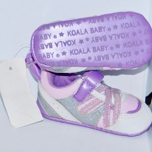KOALA BEAR INFANT GIRLS SHOES NWT SZ 2
